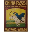 China Rossi Elixir Tonico Ricostituente Fratelli Rossi Asiago (WK 07258)