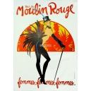 Moulin Rouge femmes femmes femmes (80 x 120) (WK 02785)