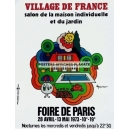 Paris 1973 Foire de Paris Village de France (WK 06615)