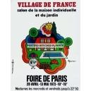 Paris 1973 Foire de Paris Village de France (WK 06615)