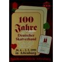 100 Jahre Deutscher Skatverband 1999 Altenburg (WK 100374)