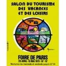 Paris 1973 Foire de Paris Salon du tourisme des vacances et des loisirs 120x160 WK 06616)