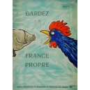 Gardez La France Propre (55x77 - WK 2835)