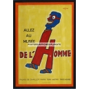 Musée de l'Homme (45x62 - framed - WK 06642))