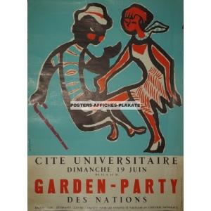 Cité Universitaire ... Garden - Party des Nations ... (WK 02113)