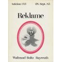 Auktionskatalog Boltz 1985 Reklame (WK 07303)