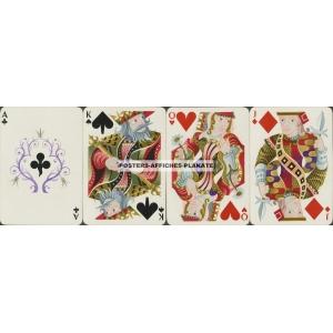 Hermès Draeger Cassandre Kartenspiel Playing Cards (b - WK 16620)