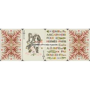 Hermès Draeger Cassandre Kartenspiel Playing Cards (r - WK 16621)