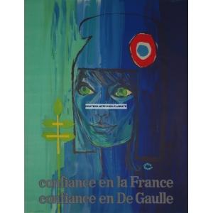 Confiance en la France confiance en De Gaulle (WK 07322)