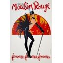 Moulin Rouge femmes femmes femmes (40 x 60) (WK 02906)