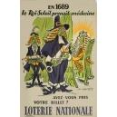 Loterie Nationale en 1689 Le Roi Soleil prenait (WK 02852)