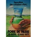 Paris 1977 Foire de Paris Exposition des créations d'art (WK 06632)